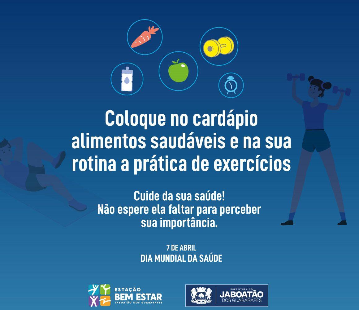 Read more about the article 7 de Abril – Dia Mundial da Saúde