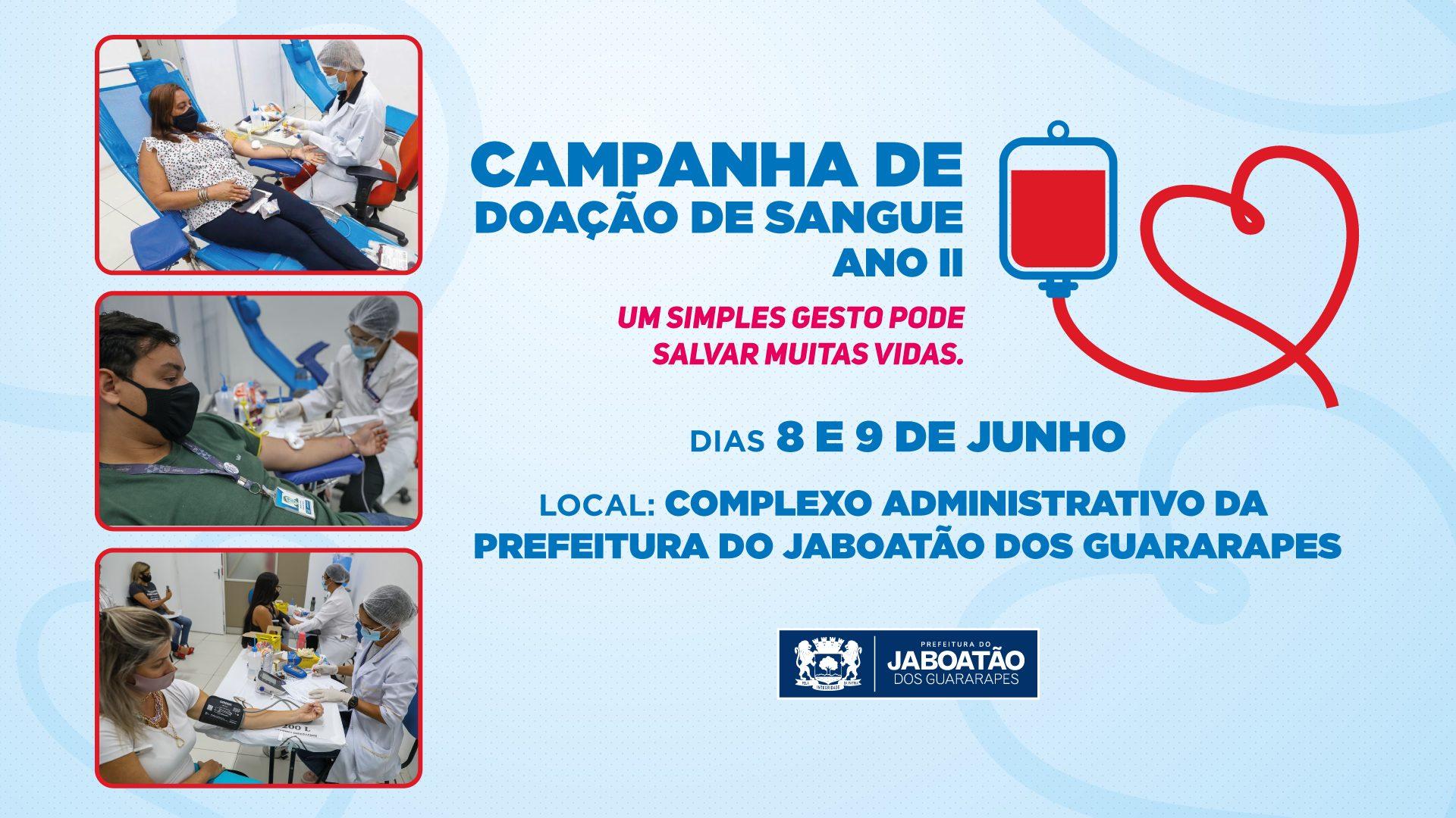 Read more about the article CAMPANHA DE DOAÇÃO DE SANGUE – ANO II