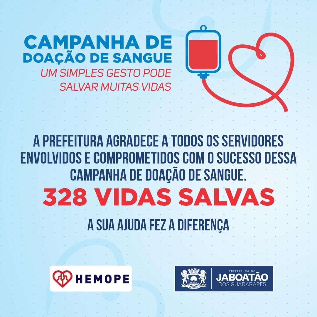 Read more about the article CAMPANHA DE DOAÇÃO DE SANGUE